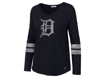 Detroit Tigers '47 MLB Women's Court Side Long Sleeve T-Shirt