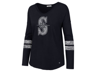 Seattle Mariners '47 MLB Women's Court Side Long Sleeve T-Shirt