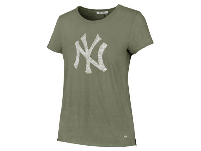 New York Yankees '47 MLB Women's Olive Fader T-Shirt