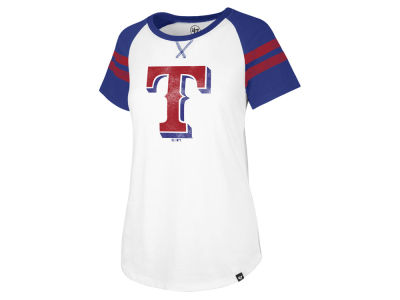Texas Rangers '47 MLB Women's Flyout T-Shirt