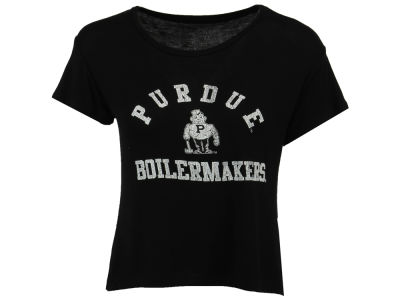 Purdue Boilermakers Retro Brand NCAA Women's Rayon Vintage T-Shirt