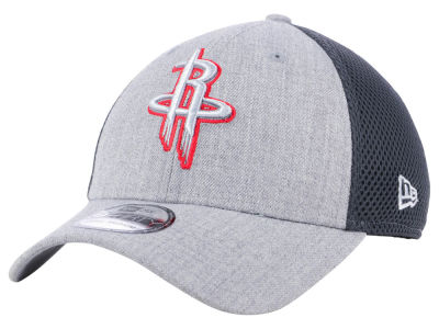 Houston Rockets New Era NBA Heathered Neo Pop 39THIRTY Cap