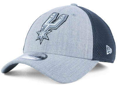 San Antonio Spurs New Era NBA Heathered Neo Pop 39THIRTY Cap