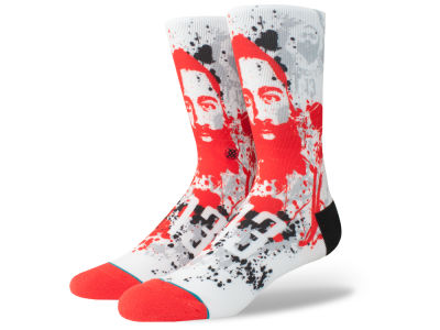 Houston Rockets James Harden Stance NBA Future Legends Splatter Art Crew Socks