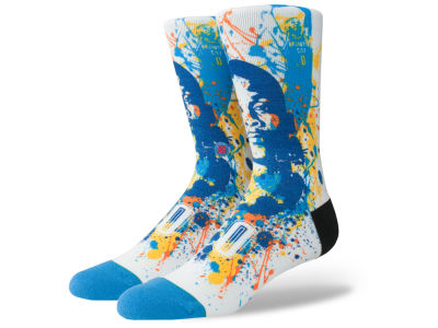 Oklahoma City Thunder Russell Westbrook Stance NBA Future Legends Splatter Art Crew Socks