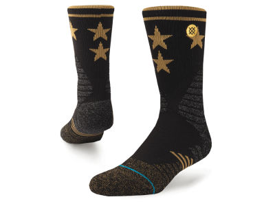 NBA Logo Stance Hoops Strikefull Quarter Socks