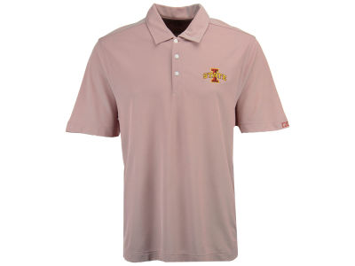 Iowa State Cyclones Cutter & Buck NCAA Men's Drytec Blaine Oxford Polo