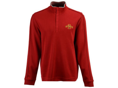 Iowa State Cyclones Cutter & Buck NCAA Men's Fulltime Quarter Zip Pullover