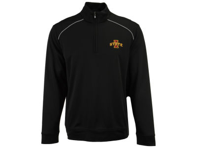 Iowa State Cyclones Cutter & Buck NCAA Men's Weather Tec Ridge Half Zip Pullover