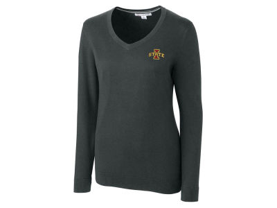 Iowa State Cyclones Cutter & Buck NCAA Women's Lakemont V-Neck Sweater