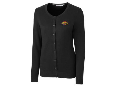 Iowa State Cyclones Cutter & Buck NCAA Women's Lakemont Cardigan Sweater
