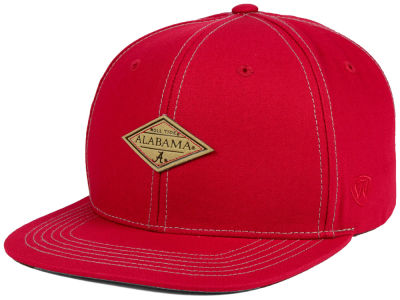 Alabama Crimson Tide Top of the World NCAA Diamonds Snapback Cap