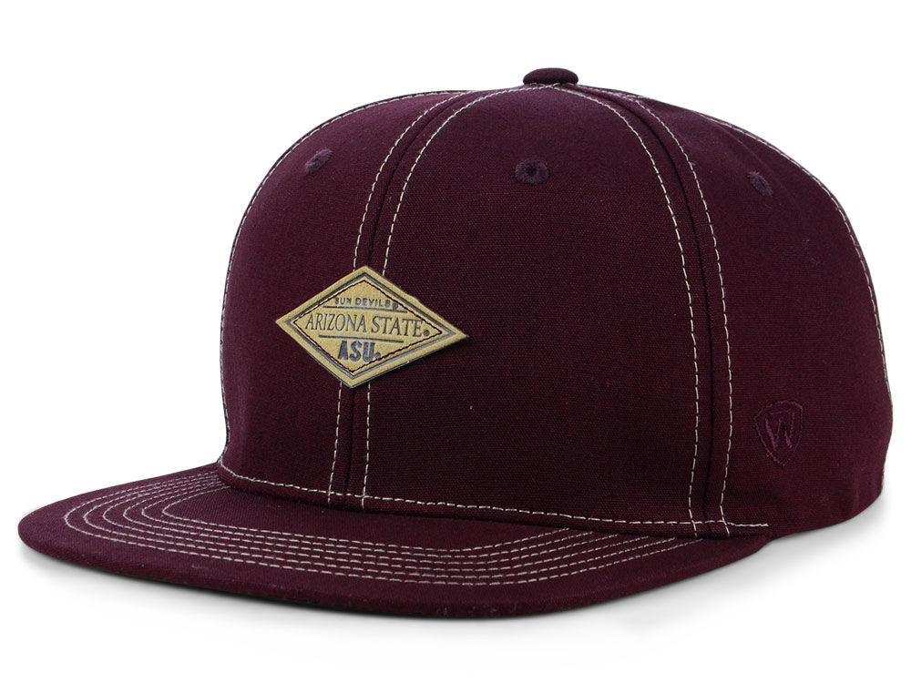 buy popular 22969 f5956 france arizona state sun devils top of the world ncaa diamonds snapback cap  efe5c ebed5