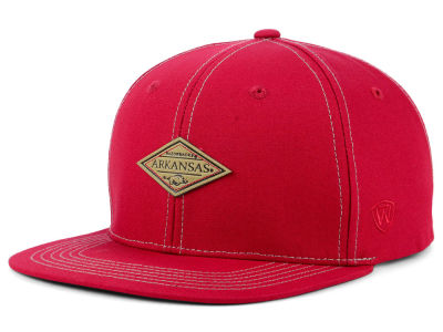 Arkansas Razorbacks Top of the World NCAA Diamonds Snapback Cap