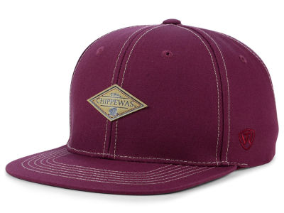 Central Michigan Chippewas Top of the World NCAA Diamonds Snapback Cap