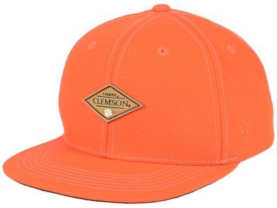 Clemson Tigers Top of the World NCAA Diamonds Snapback Cap