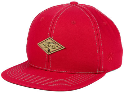 Indiana Hoosiers Top of the World NCAA Diamonds Snapback Cap