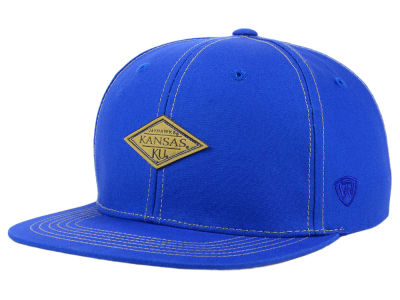 Kansas Jayhawks Top of the World NCAA Diamonds Snapback Cap
