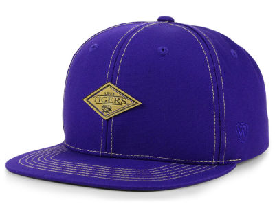 LSU Tigers Top of the World NCAA Diamonds Snapback Cap