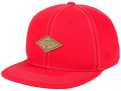 Louisville Cardinals Top of the World NCAA Diamonds Snapback Cap