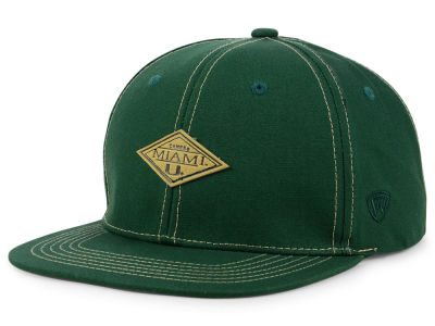 Miami Hurricanes Top of the World NCAA Diamonds Snapback Cap
