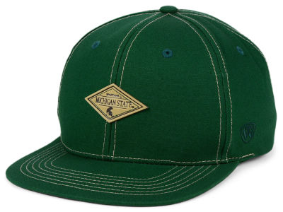Michigan State Spartans Top of the World NCAA Diamonds Snapback Cap