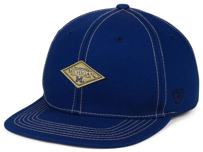 Michigan Wolverines Top of the World NCAA Diamonds Snapback Cap