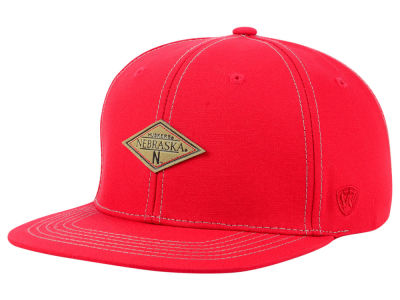 Nebraska Cornhuskers Top of the World NCAA Diamonds Snapback Cap