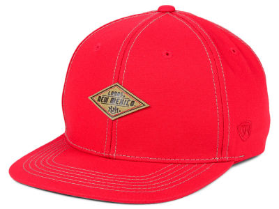 New Mexico Lobos Top of the World NCAA Diamonds Snapback Cap