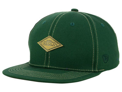 Oregon Ducks Top of the World NCAA Diamonds Snapback Cap