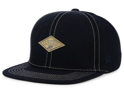 Purdue Boilermakers Top of the World NCAA Diamonds Snapback Cap