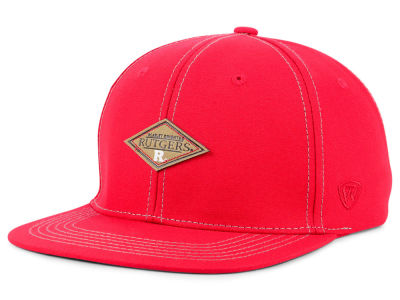 Rutgers Scarlet Knights Top of the World NCAA Diamonds Snapback Cap