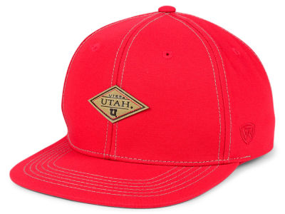 Utah Utes Top of the World NCAA Diamonds Snapback Cap