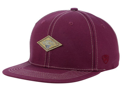 Virginia Tech Hokies Top of the World NCAA Diamonds Snapback Cap