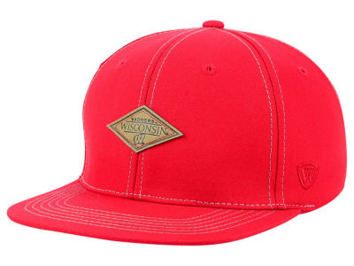 Wisconsin Badgers Top of the World NCAA Diamonds Snapback Cap