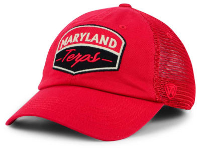 quality design f473b bb6db Maryland Terrapins Top of the World NCAA Society Adjustable Cap