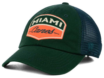 Miami Hurricanes Top of the World NCAA Society Adjustable Cap