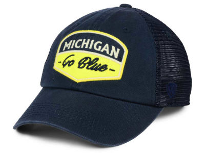 new style 12221 233eb Michigan Wolverines Top of the World NCAA Society Adjustable Cap