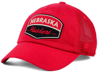 Nebraska Cornhuskers Top of the World NCAA Society Adjustable Cap