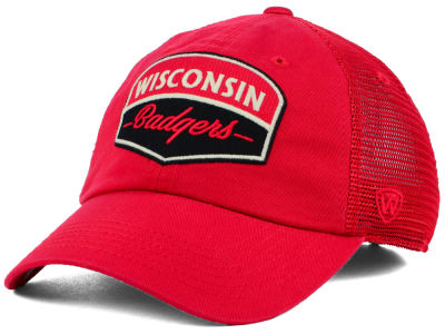 Wisconsin Badgers Top of the World NCAA Society Adjustable Cap