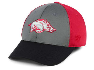 Arkansas Razorbacks Top of the World NCAA Divison Stretch Cap