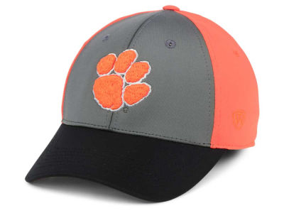new product f3b68 43a3e Clemson Tigers Top of the World NCAA Divison Stretch Cap