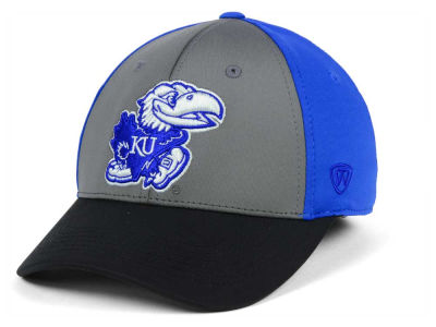 best sneakers 34387 fc343 ... coupon code for kansas jayhawks top of the world ncaa divison stretch  cap 27ce4 4e176