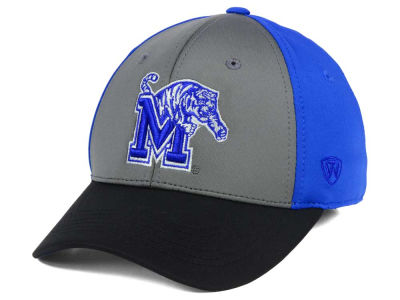 Memphis Tigers Top of the World NCAA Divison Stretch Cap