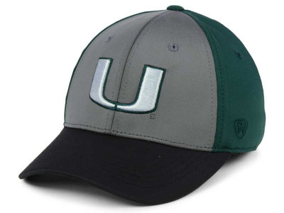Miami Hurricanes Top of the World NCAA Divison Stretch Cap