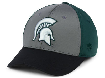 Michigan State Spartans Top of the World NCAA Divison Stretch Cap