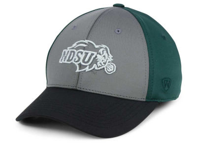 North Dakota State Bison Top of the World NCAA Divison Stretch Cap