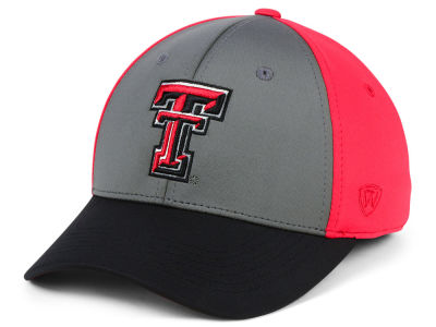 Texas Tech Red Raiders Top of the World NCAA Divison Stretch Cap 31d0d29f4dc3
