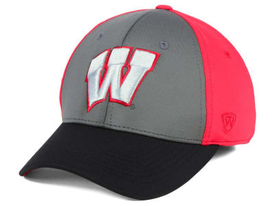 Wisconsin Badgers Top of the World NCAA Divison Stretch Cap