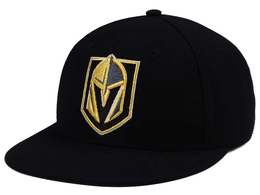 2d58b4882ba Vegas Golden Knights adidas NHL Basic Fitted Cap